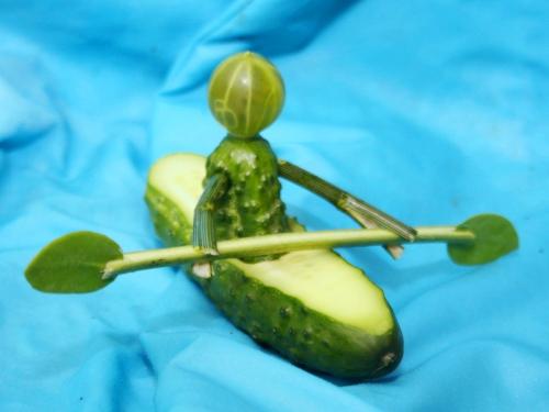 Как сделать байтерек из овощей