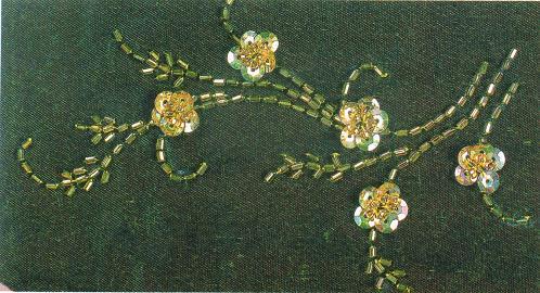 Узоры вышивки бисером фото
