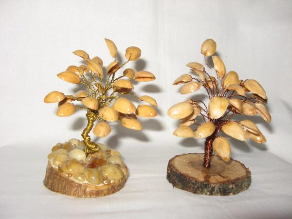 Дерево фисташек поделка